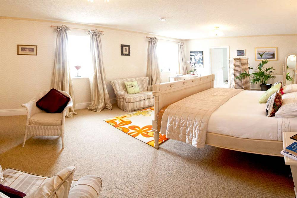 The Eden Suite at Budleigh House